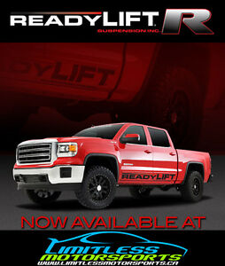 READYLIFT SUSPENSION Now Available at Limitless Motorsports!