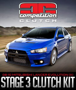 Competition Stage 3 Street Strip Performance Clutch 2008-2014 La