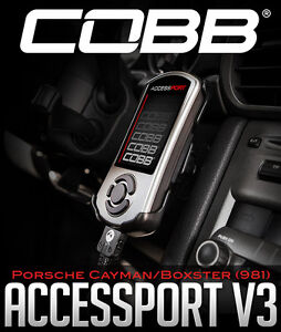 Cobb Accessport V3 for Porsche Cayman/Boxster (981)