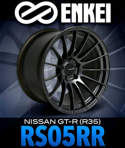 Enkei RS05-RR Now Available in Nissan GT-R (R35) Fitment!