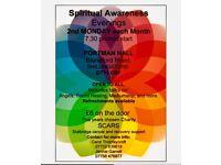 Spiritual Awareness Evenings 2018