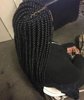 Perfect and affordable weaves.extentions, hairdresser
