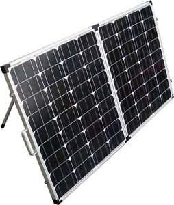 100W Folding Portable Solar Panel - perfect for the cabin or RV!
