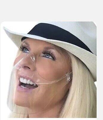 Plastikmaske Gesichtsschutz Schutzvisier Mundschutz Faceshield Schutzmaske DE