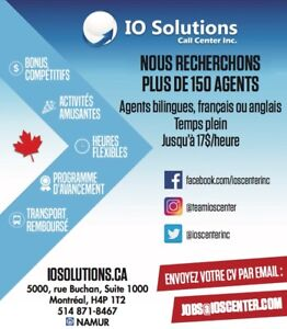 Nous embauchons! We are hiring!
