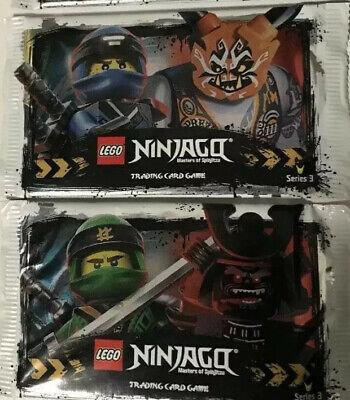 LEGO NINJAGO TRADING CARDS SERIES 3 -48 X Sealed Packets