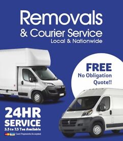 Cheap Man And Van £20p/h Removal Services