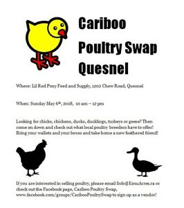 Poultry Swap in Quesnel
