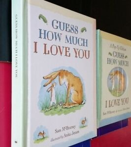 ▀▄▀Hallmark Recordable Storybook Guess How Much I Love You~