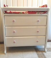 Excellent  Shape! Baby Change Table 3-Drawers, Mahogany