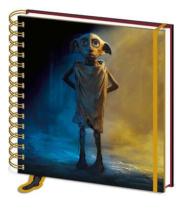 Journal Square Notebook - Harry Potter Dobby Square Notebook Journal Spells Wizard School College