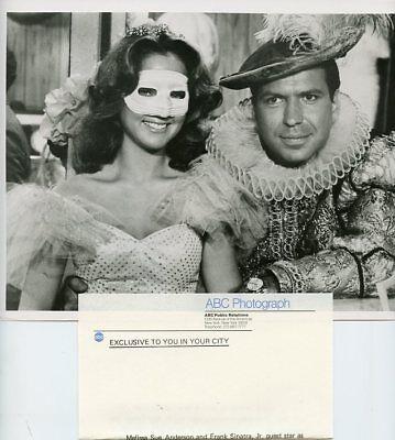 MELISSA SUE ANDERSON FRANK SINATRA JR COSTUME BALL THE LOVE BOAT 80 ABC TV PHOTO