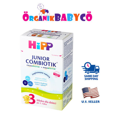 HiPP Stage 3 JUNIOR ORGANIC COMBIOTIK Baby Formula FROM 12 MONTHS