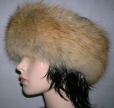 Coyote Fur Headband (NEW RED COYOTE FUR HEADBAND NECK WRAP SCARF )