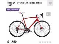 Raleigh Revenio 5 Disc Road Bike 2015