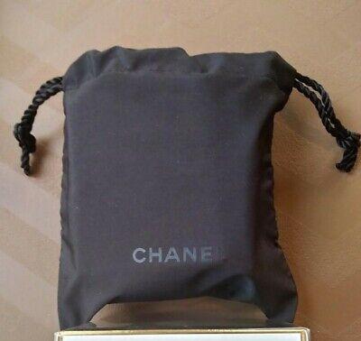 Chanel Beauty Skincare Makeup Perfume lot + Storage pouch drawstring Bag travel