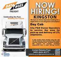 Day & Ross is looking for Owner Operators