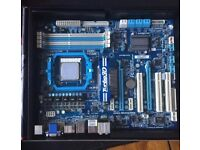 Gigabyte Motherboard GA-880GA-UD3H - for parts