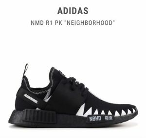 "ADIDAS NMD R1 PK ""NEIGHBORHOOD"" edition sneakers."