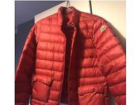 Moncler Red Jacket XS