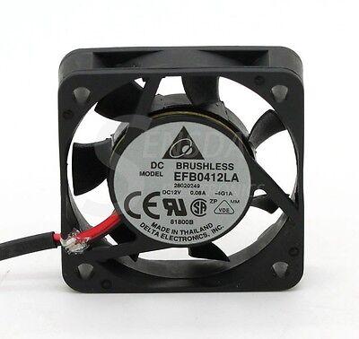 Delta EFB0412LA 4cm best silent quiet 40mm fan 4010 12V 0.08A cpu computer