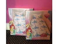 ***FOR SALE Brand New & Unopened Disney Princess Cinderella Children's single duvets / bedding x2***