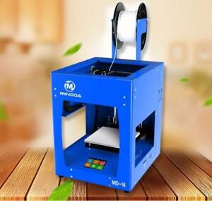 BRAND NEW 3D PRINTER MINGDA MD-16 160*160*160mm YELLOW/BLUE/RED SEALED BOX