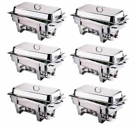 Chafing dishes to hire