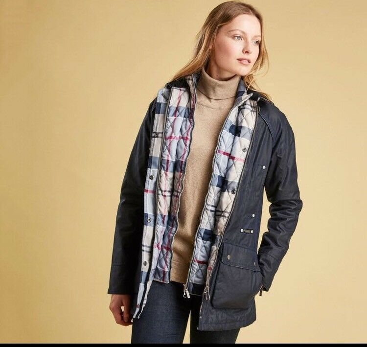 Barbour Womens Tantallon Wax  496c2cf63