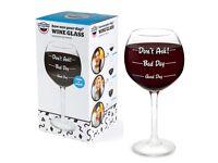 Wine glass gift new