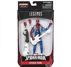 WANTED Marvel Legend SpiderPunk Lizard Spiderman Brand New Box