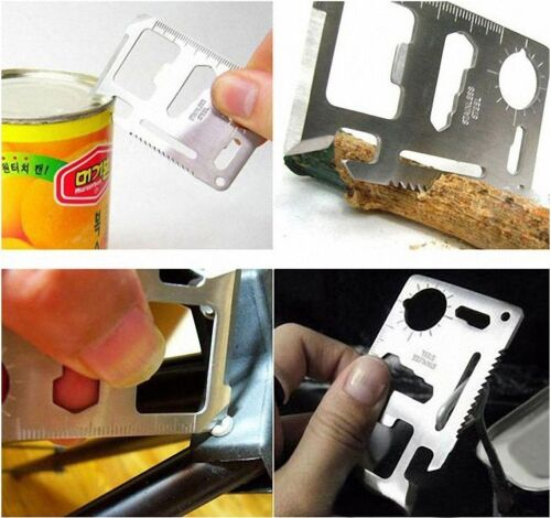 Mini-Multitools-Notuberleben-Messer-Edelstahl-Camping-Werkzeug-Tasche-11-in1