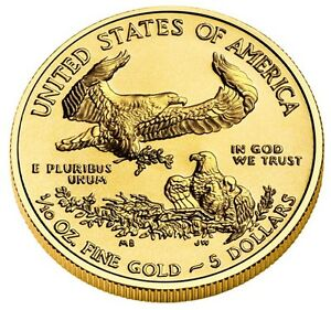 One Tenth Ounce Gold Coin Ebay