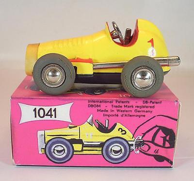 Schuco Nr. 1041 Micro Racer Midget gelb #1 Neuauflage Replica OVP #1338