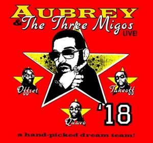 Drake Migos Concert 5 Tickets Lower Bowl August 20
