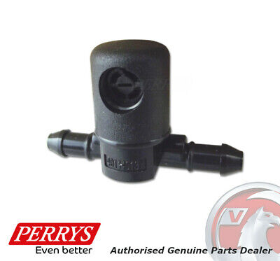 VAUXHALL INSIGNIA A WINSCREEN WASHER JET / NOZZLE (LH) - 12782508 - GENUINE
