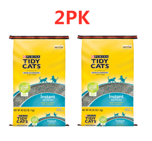 Purina Tidy Cats Non-Clumping Cat Litter Instant Action for