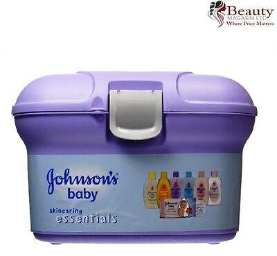 Johnsons Baby Skincaring Essentials Gift Set Ideal Newborn Present New In Case