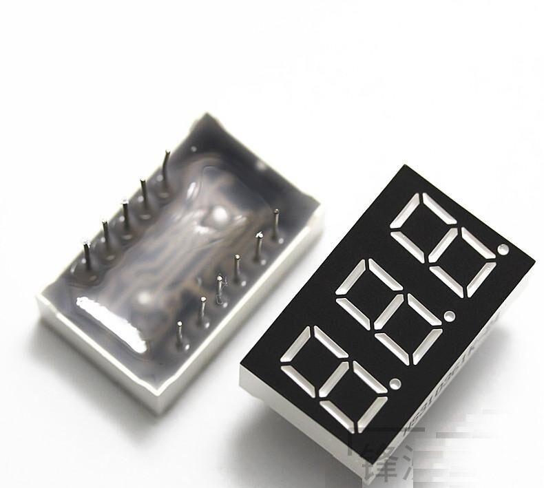 1PCS 0.36 inch 3 digit 7 seg segment Common anode led display Red