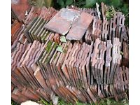 Reclaimed Rosemary Red Clay Roof Tiles - ONLY 500 LEFT!