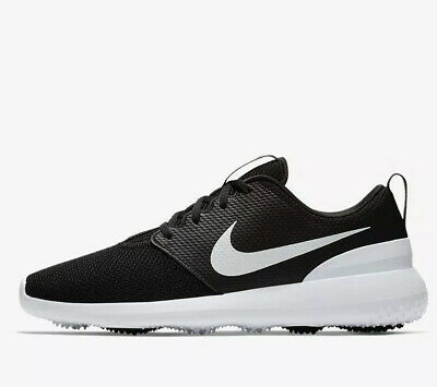 Nike Roshe G Golf Shoes Black / White AA1837 001 Mens Size UK 7 EUR 41