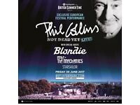Phil Collins, Blondie and Mike & the Mechanics at Hyde Park June 30th