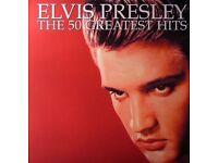 Elvis Presley The 50 Greatest Hits Vinyl