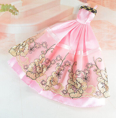 Handmade Party Clothes Fashion Dress for Noble Barbie Doll tao56 on Rummage