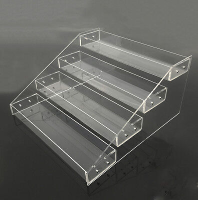 Fig Dsw  Clear Acrylic 4 Tier Display Shelf For Action Figure  Toy  Cosmetics