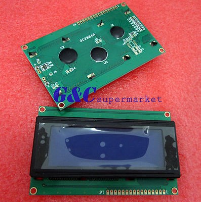 2pcs New 2004 204 20x4 Character Lcd Display Module Blue Blacklight Good Quality