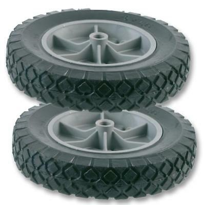 Solid Spare Wheels (Pair) for 100kg Sack Truck