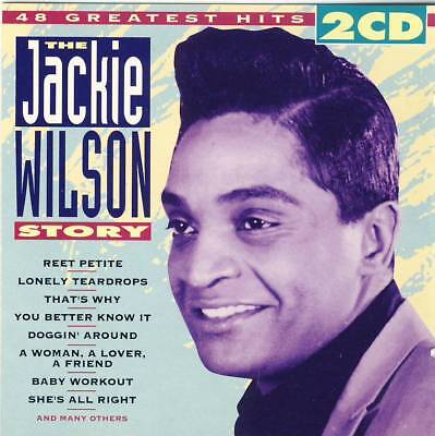 The Jackie Wilson Story - 40 Greatest Hits (2 CDs) 1994 very good condition!, usado segunda mano  Embacar hacia Mexico