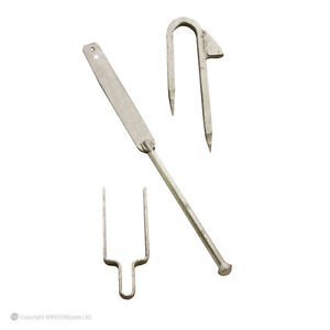 Galvanised Spring Fastener 5 Bar Staple 3