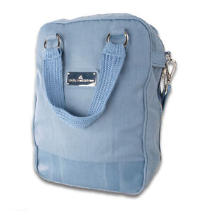 Adidas Stella McCartney Shoulder Sport Bag, Blue *New*